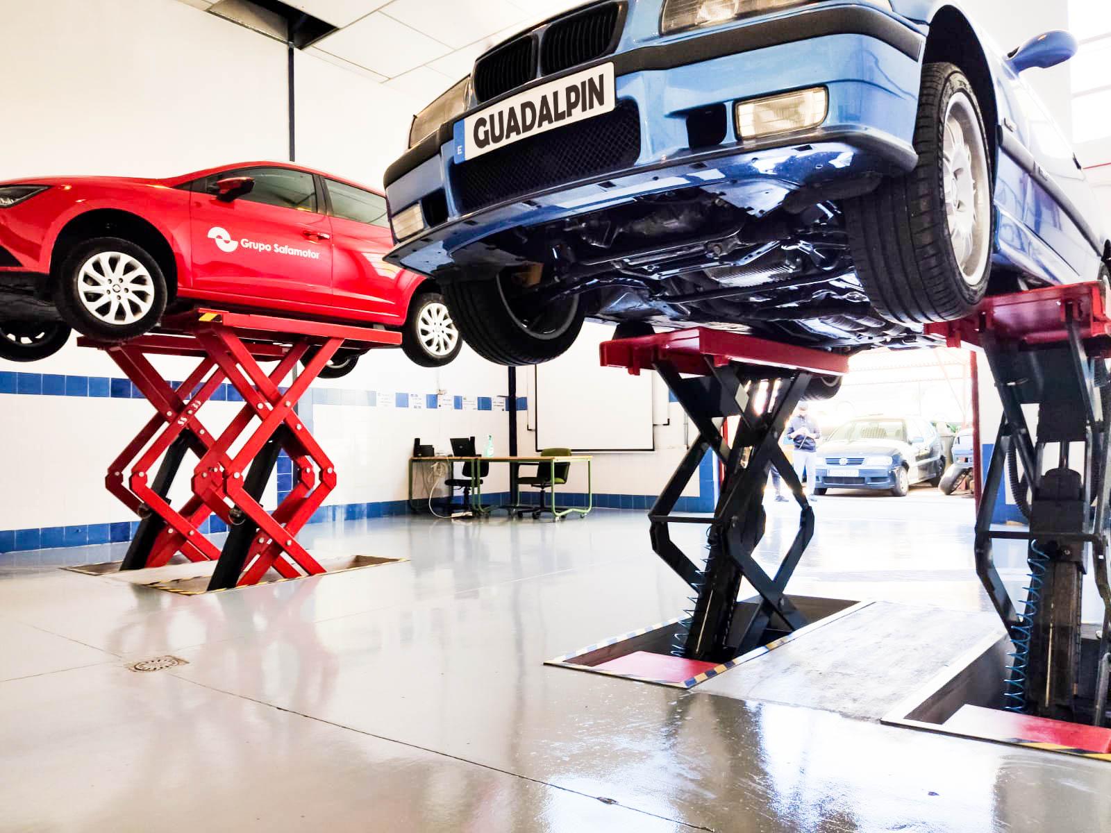 Mejoras en las instalaciones del ciclo de electromecánica de vehículos