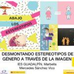 """Mercedes Sánchez Vico imparte el taller """"Desmontando estereotipos de género a través de la imagen"""" al alumnado de audiovisuales"""