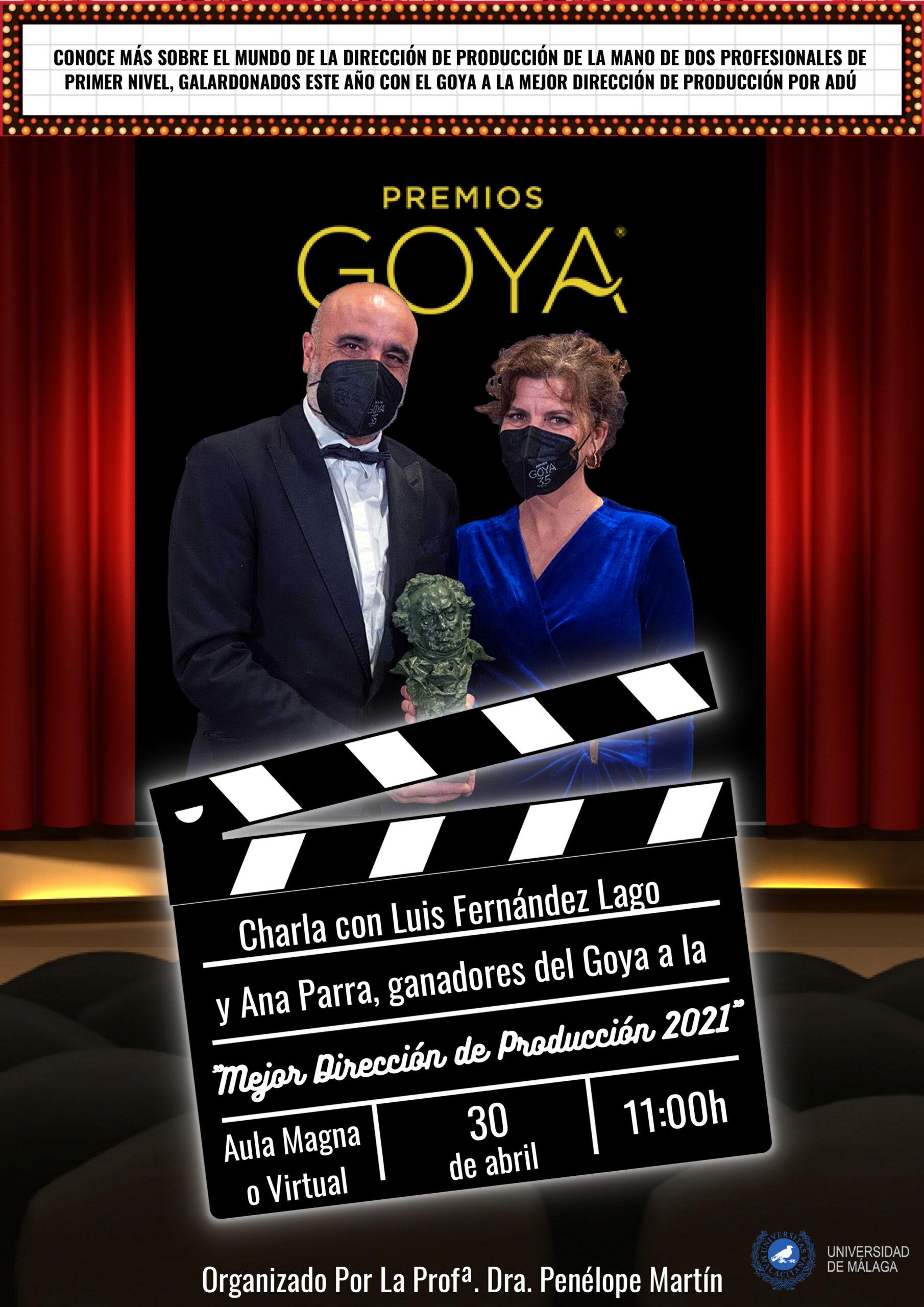 Ganadores del Goya a