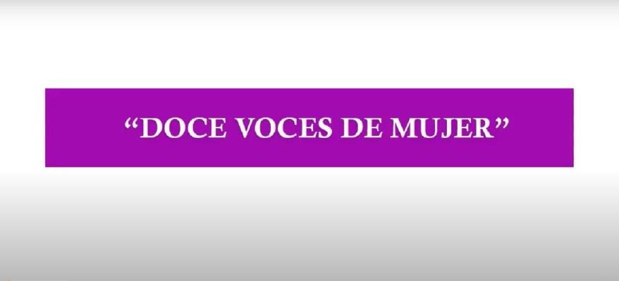 """Capítulos 2 y 3 del proyecto coeducativo """"Doce voces de mujer"""""""