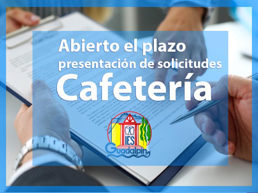 Apertura de ofertas para la concesión de la cafetería del centro para el próximo año
